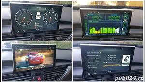Navigatie cu android dedicata Audi A6 C7 4G / A7 4G 2011-2018 - imagine 3