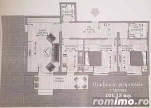 Apartament premium 3 camere Bragadiru/TERASA+GRADINA SUPERBA 102MP/COMISION 0% - imagine 14