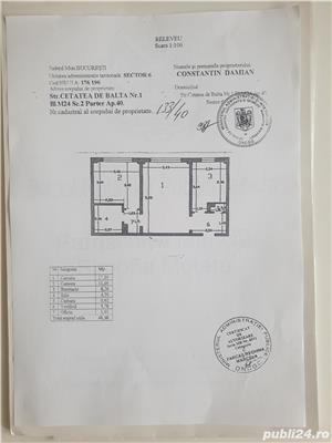 Proprietar, ap 2 camere, parter/8, stradal, 2 gr. sanitare, renovat  , ideal firma, metrou Gorjului. - imagine 9