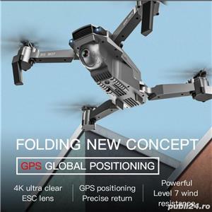 Drona GPS camera electrica 4K, zbor 18min, distanta 400-500M, Foto 14 megapixeli return, - imagine 6