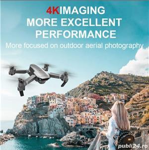 Drona GPS camera electrica 4K, zbor 18min, distanta 400-500M, Foto 14 megapixeli return, - imagine 8