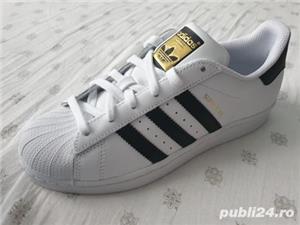 Adidasi Adidas Superstar C77154 Unisex - imagine 4