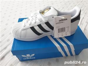 Adidasi Adidas Superstar C77154 Unisex - imagine 5