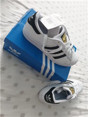 Adidasi Adidas Superstar C77154 Unisex - imagine 1