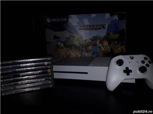 Xbox one s minecraft edition + 8 jocuri - imagine 1