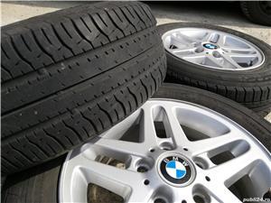 Roti BMW originale R15 style 53 e36 e46 e90 e80 e81 5x120 Jante aliaj  aluminiu - imagine 1