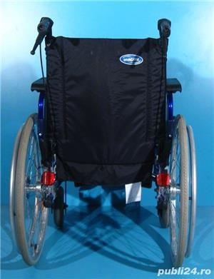 Carucior handicap Invacare / sezut 45 cm - imagine 4