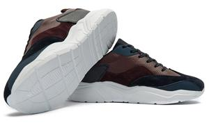 Sneakers BIGOTTI piele naturala Marimea 39 - imagine 1