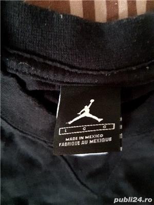 Tricou Jordan negru - imagine 2
