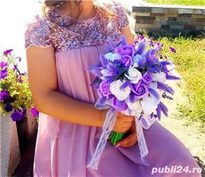 Buchete de mireasa cu flori de sapun  - imagine 1
