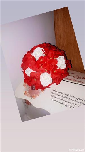 Buchete de mireasa cu flori de sapun  - imagine 2