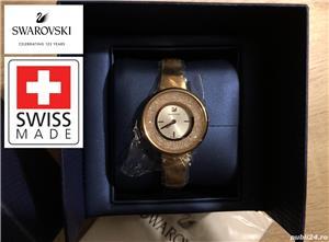 Ceas de dama original Swarovski Crystalline Pure, 5269250 Rose gold, tone PVD, NOU, garantie 2 ani - imagine 2