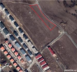 Vand teren comuna Baciu (la sfarsitul strazii Privighetorii) - imagine 2