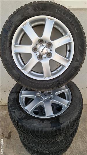 Jante Rial R16 5x108, ET46 cu anvelope 215/55/R16 Ford, Volvo, Peugeot - imagine 2