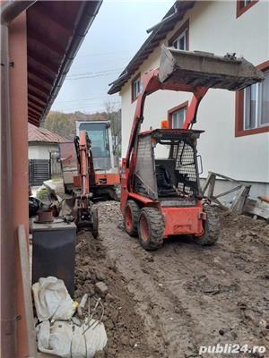 Miniexcavator si Bobcat de inchiriat - imagine 2