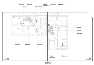 Vand casa tip duplex P+1E in Livada (3 km de Arad) - imagine 5
