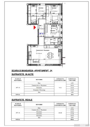 Apartament 4 camere, dormitoare mari, Turnisor Sibiu - imagine 7