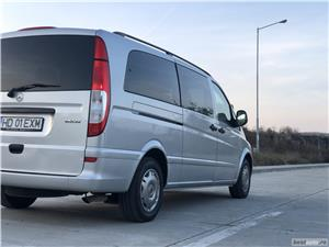 Mercedes-Benz Vito*115CDI*extra long*proprietar*9 locuri*clima*af.2008 ! - imagine 4
