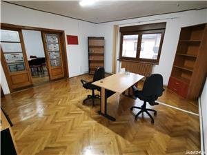 INCHIRIEZ spatiu birou apartament 3 camere la casa,zona Milea - imagine 2