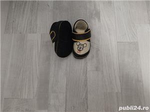 Papucei Macco cu brant detasabil de lana - imagine 1