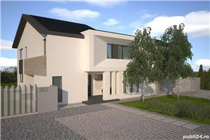 Vand casa tip duplex P+1E in Livada (3 km de Arad) - imagine 1