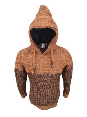 hanorac tricotat gros barbatesc  - imagine 1