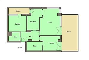 Penthouse bloc nou, Micalaca - Malul Muresului - imagine 8