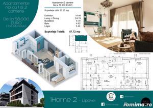 Apartamente cu 1 si 2 camere, ZERO % comision, zona Lipovei - imagine 5