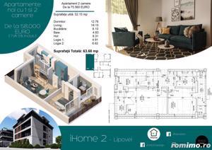 Apartamente cu 1 si 2 camere, ZERO % comision, zona Lipovei - imagine 3