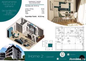 Apartamente cu 1 si 2 camere, ZERO % comision, zona Lipovei - imagine 1