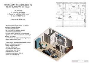 Apartamente cu 1 si 2 camere, ZERO % comision, zona Lipovei - imagine 2