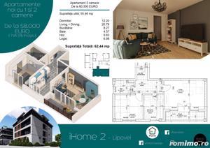 Apartamente cu 1 si 2 camere, ZERO % comision, zona Lipovei - imagine 7