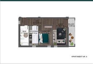 Apartament 2 camere decomandat  - imagine 1
