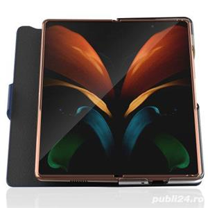 Husa flip book carte premium lux SAMSUNG Galaxy Z Fold2 / Fold 2 modele diferite - imagine 9