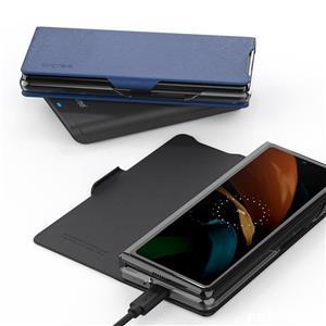 Husa flip book carte premium lux SAMSUNG Galaxy Z Fold2 / Fold 2 modele diferite - imagine 5