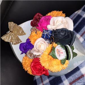 Aranjamemte pentru Craciun,  aranjamente realizate di flori de sapun - imagine 2