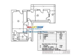 Apartament 2 camere 74 mpu decomandat et 1 Bucurestii Noi - imagine 1