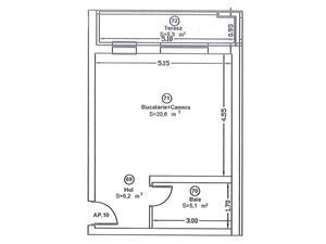 Apartament - STUDIO - de vanzare - imagine 10