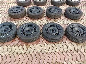 Roti 5x105x 16 Opel cu cauciucuri iarna 205 60 16 - imagine 1