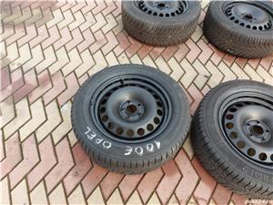 Roti 5x105x 16 Opel cu cauciucuri iarna 205 60 16 - imagine 2