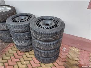 Roti 5x105x 16 Opel cu cauciucuri iarna 205 60 16 - imagine 7