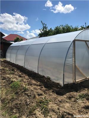 Solar zincat 10 x 4 m pt. legume, flori, rasaduri - 1950 RON - imagine 3