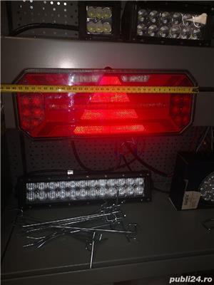 Lampa stop spate led 12 v 24 v import Germania foarte calitativ și robuste semnalizare flash  - imagine 10