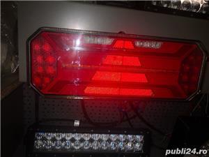 Lampa stop spate led 12 v 24 v import Germania foarte calitativ și robuste semnalizare flash  - imagine 8