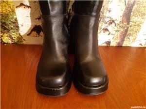 Vand cizme dama, din piele, masura 38 - imagine 5