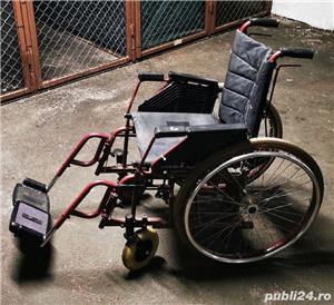 Scaun rulant pliabil Meyra pt persoane cu handicap - imagine 1