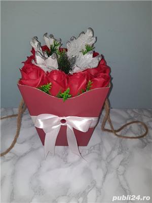 Aranjamente cu flori de sapun - imagine 3