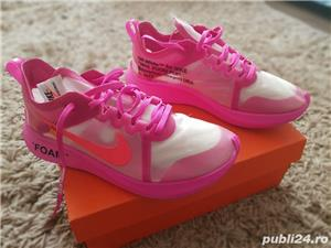 Nike Zoom Fly Off-White Pink  - imagine 2
