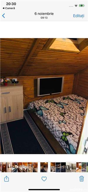 Inchiriez cabana cu piscina si ciubar jacuzzi - imagine 8