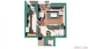 Copou / Apartament 1 camera decomandat / Incalzire pardoseala - imagine 9
